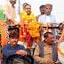 नवनियुक्त भाजपा जिलाध्यक्ष का कालपी हुआ भव्य स्वागत