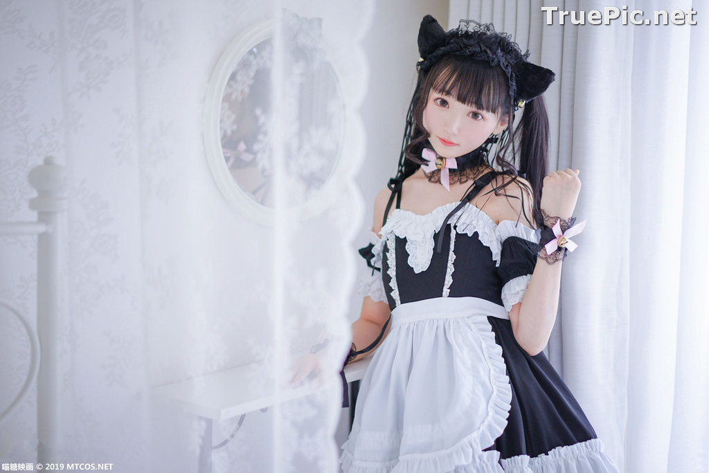 Image [MTCos] 喵糖映画 Vol.051 - Chinese Cute Model - Lovely Maid Cat - TruePic.net - Picture-10