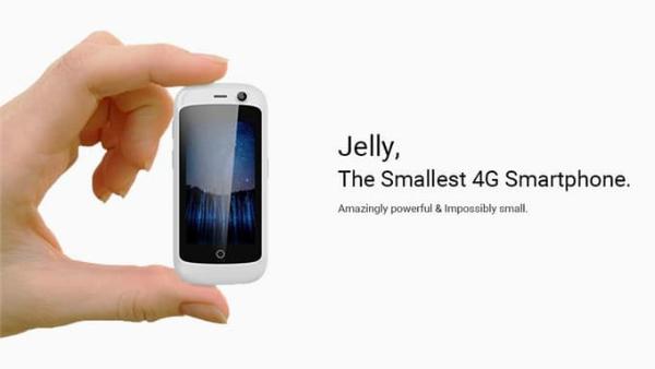 الكشف عن أصغر هاتف أندرويد في العالم