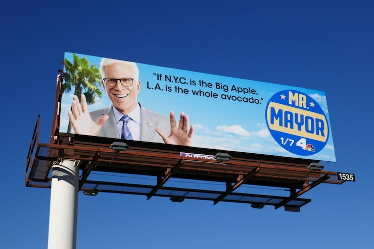 LA is whole avocado Mr Mayor billboard