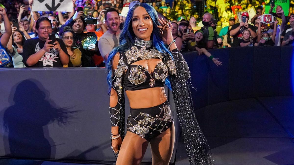 Hova lett Sasha Banks?