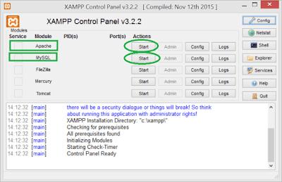 2 Cara Mudah Membuat Tabel Database Xampp Dengan CMD,Phpmyadmin