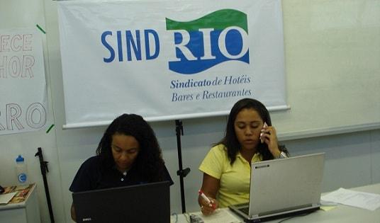 SINDRIO tem vagas para diversos cargos no Rio de Janeiro
