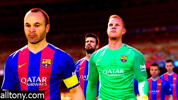 تحميل وتثبيت لعبة بيس 2017 كامله النسخة الاصلية Pro Evolution Soccer 2017