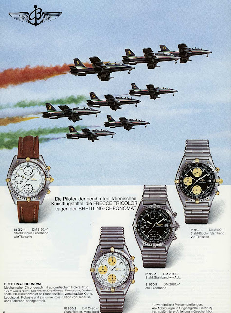 Breitling catalogue 1987