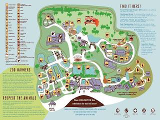 Birmingham Zoo Map