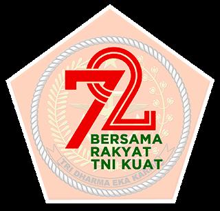 logo hut tni 2017