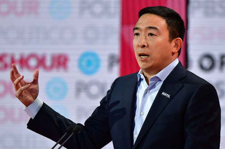 Andrew Yang Quits The Democratic Party