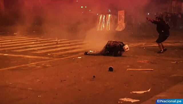 Represión policial protestas