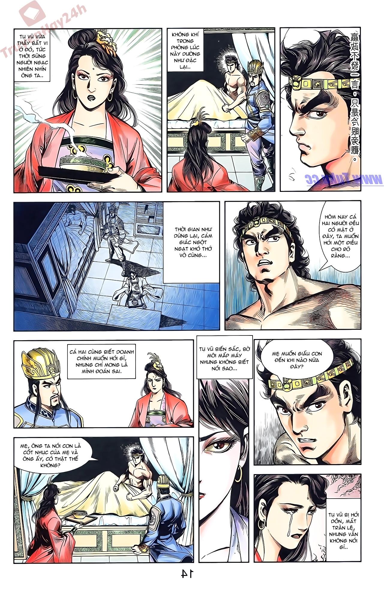 Tần Vương Doanh Chính chapter 50 trang 14