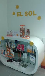 Sol y Fotoprotección, Farmacia espejo