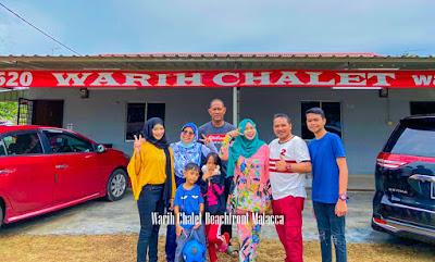 Warih-Chalet-2-Keluarga-Pn-Izu-Dan-Tn-Zamri