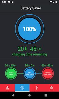 fitur penghemat baterai