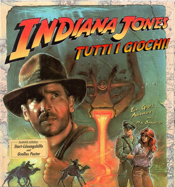 Indiana Jones tutti i giochi di Indy