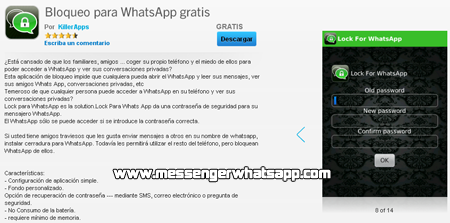 Bloqueo para WhatsApp en tu BlackBerry