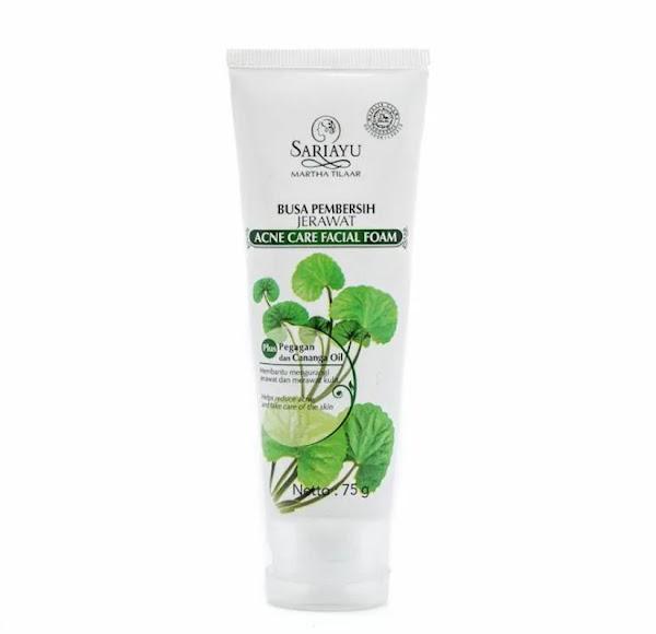 Sariayu Acne Care Facial Foam Skincare Centella Asiatica Menghilangkan Jerawat