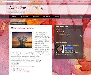 Awesome Inc. Artsy Theme