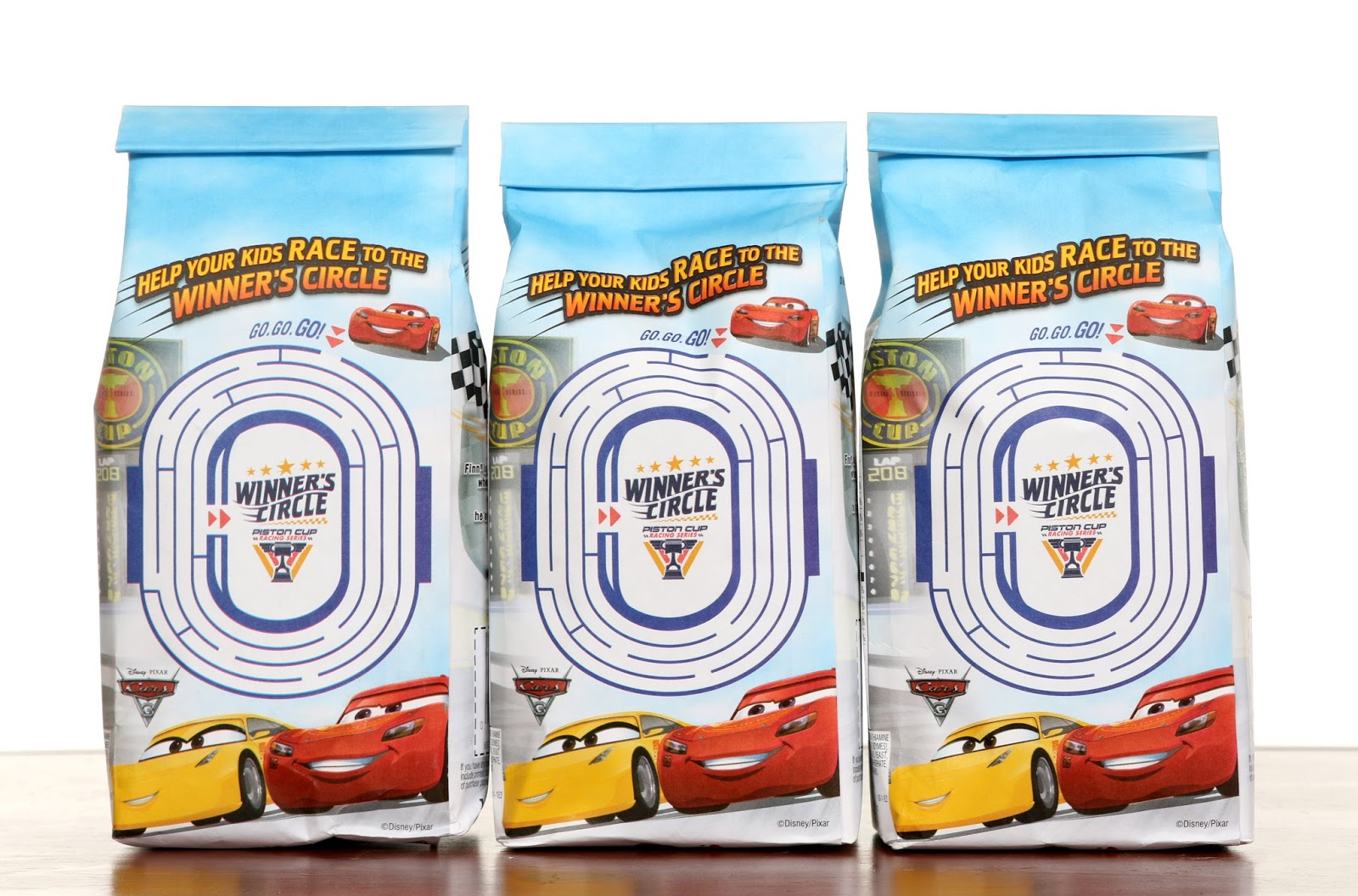 disney pixar Cars 3 Pepperidge Farm Goldfish