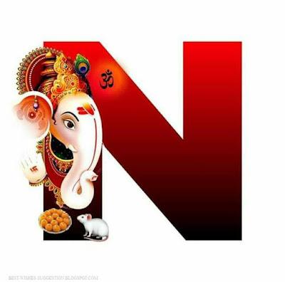 Ganesha-alphabet-N-images-download