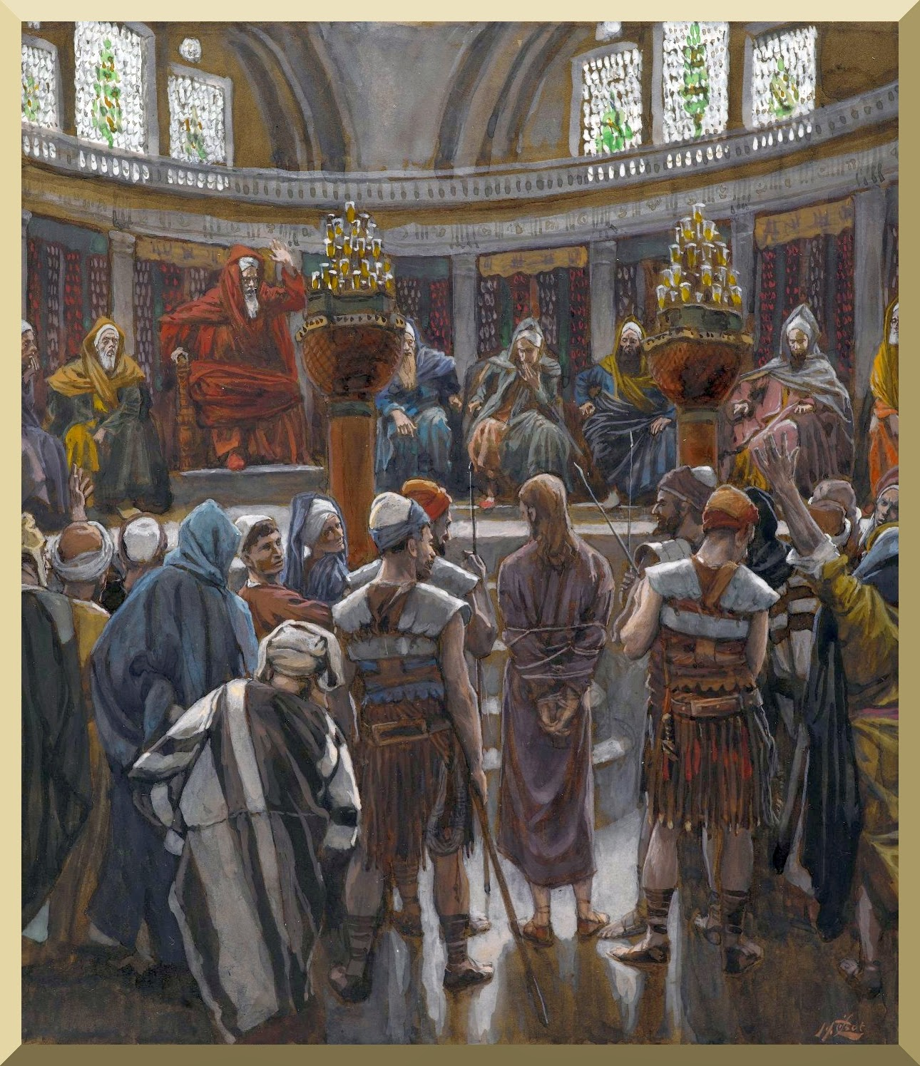 """The Morning Judgment"" -- by James Tissot"