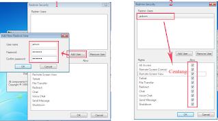 Konfigurasi Service Radmin Server