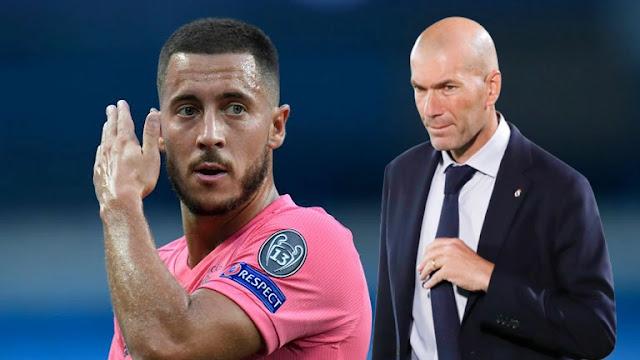 ريال مدريد وسقوط هازارد وصراع زيدان