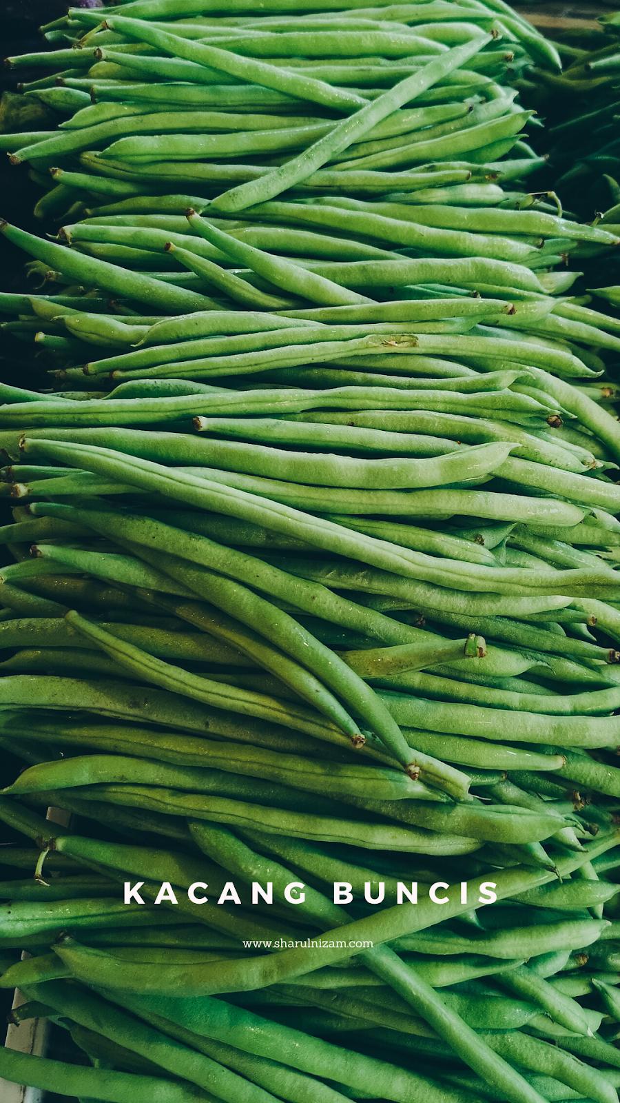 Sayur-sayuran Tempatan - Kacang Buncis