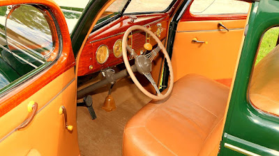 1939 Ford Deluxe Coupe Cabin Interior