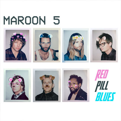 The 10 Worst Album Cover Artworks of 2017: 01. Maroon 5: Red Pill Blues