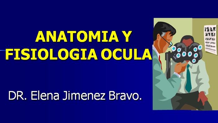 Oftalmología - Anatomía y Fisiología