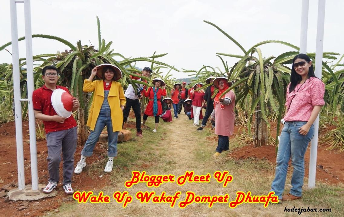 Mengenal Wakaf Produktif Sambil Jelajah Kebun Indonesia Berdaya di Subang