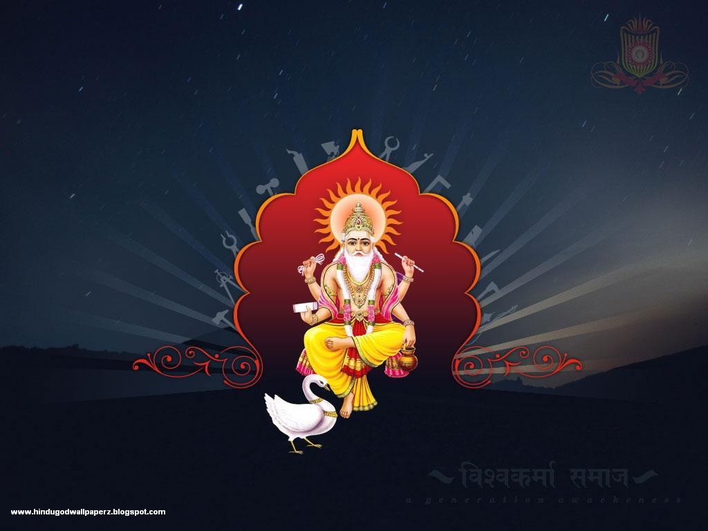 Sai Baba Animated Wallpaper For Mobile Lord Vishwakarma Hd Wallpaper Hindu God Wallpapers