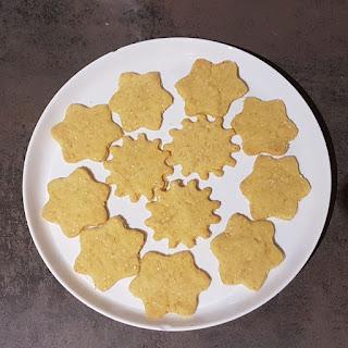 Biscuits à la farine de maïs réalisés par Anne
