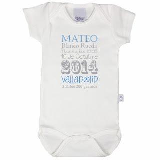 Regalos personalizados para recién nacido