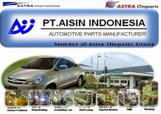 Lowongan Operator Produksi PT.AISIN INDONESIA Terbaru Cikarang