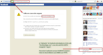 Reportar app FB 2012