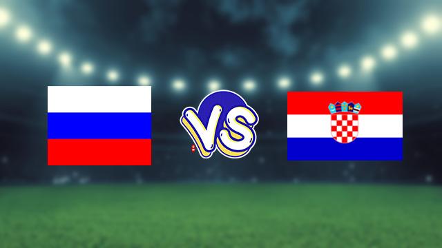 مباراة كرواتيا ضد روسيا