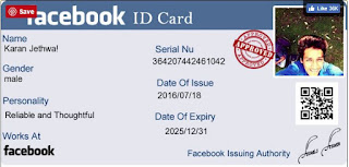 Facebook ID Card Aur Driving License Kaise Banate Hai - How To Generate Facebook Card