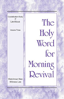 HWMR - Crystallization-Study of Leviticus (2) - Vol 3
