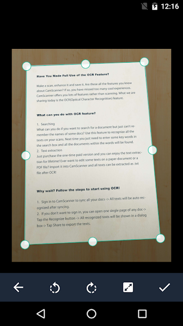 Cara Mudah Scan Dokumen Dengan HP Android