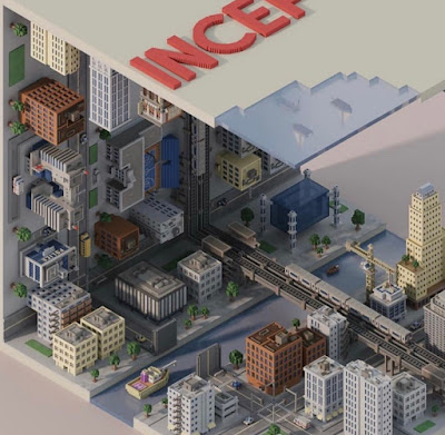 Voxel Inception Buildings