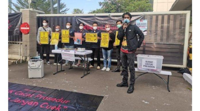 Desak Jokowi Sikapi Pemecatan Pegawai KPK, Mahasiswa Jogja: Hancur Hati Ini Melihat Penindasan & Pembodohan Sistematik!
