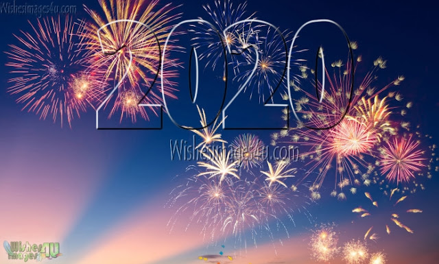 New Year 2020 Fireworks HD Photos Download Free