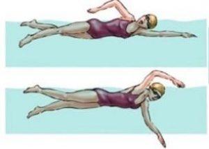 teknik koordinasi gerakan lengan dan kaki renang gaya bebas
