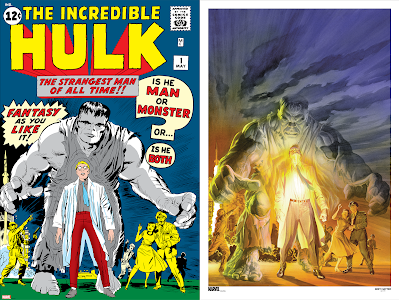 The Incredible Hulk Cover Art Prints by Jack Kirby, Alex Ross & Grey Matter Art