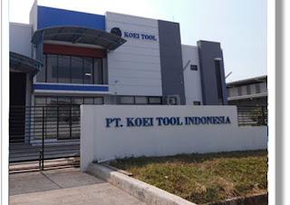 Informasi Loker Jababeka Cikarang PT Koei Tool Indonesia Terbaru