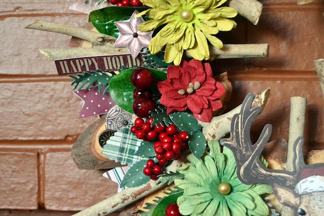 Christmas Treasure_Rustic Christmas Wreath_Denise_20 Dec 04
