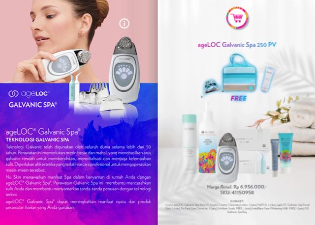 Promo Galvanic Spa Nu Skin November 2020