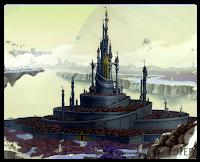 É um mundo paralelo ao reino de Fiore porém, diferente do mundo onde vivem os personagens de Fairy Tail, a magia de Edolas é limitada, podendo se esgotar caso seja usada excessivamente. Para evitar que isso acontecesse, um plano foi iniciado há seis anos atrás pelo antigo rei, Faust, que criou um feitiço que consistia em absorver magia de outros mundos  Este feitiço é o espaço hiper-dimensional Anima. Ao executá-lo, um buraco simplesmente se abre no céu, absorvendo tudo ao seu redor.   Nessa Terra, existia uma raça que era considerada a raça superior aos humanos, os Exceeds, que viviam em uma cidade flutuante bem acima da capital de Edolas. Eles eram os únicos seres que tinham alguma magia em seus corpos, tornando-os especiais e temidos por todas as pessoas.   Porém, o novo rei Gerard abriu mão de todo e qualquer resquício de magia existente em Edolas. Os habitantes e as guildas, apesar de não concordarem e não estarem acostumados, passaram a viver sem a ajuda de mágica em seu dia-a-dia. Todos os Exceeds habitantes de Extalia e a magia que esse mundo ainda possuía foram transportados para Fiore através do Anima que fora utilizado de modo reverso.
