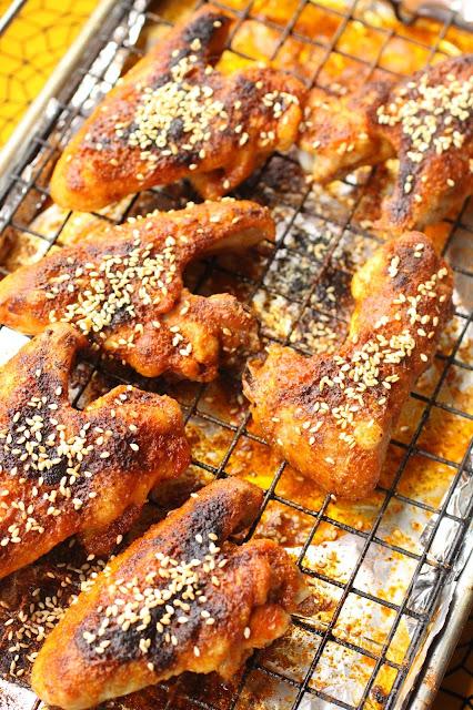 ailes de poulet cumin chine